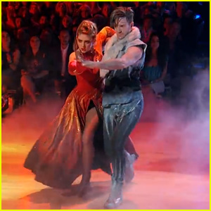Willow Shields & Mark Ballas Look Straight Out of the 'Hunger Games' Capitol on 'DWTS' - Watch Now!