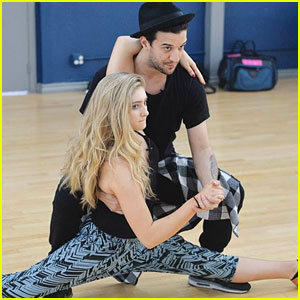 Willow Shields & Mark Ballas Show Off Dance Moves In New 'DWTS' Pics!