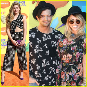 Willow Shields Takes Mark Ballas To Kids Choice Awards 2015