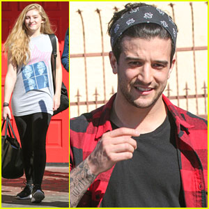 Willow Shields & Mark Ballas: 10 Days Until 'Dancing With The Stars' Premiere!