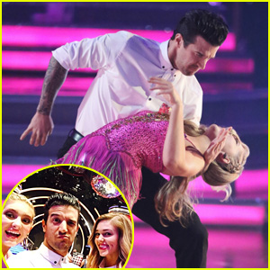Willow Shields & Mark Ballas Get Support From Sadie Robertson at 'DWTS' - See the Pics!