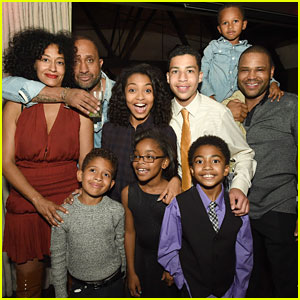 Yara Shahidi & Marcus Scribner Celebrate at 'black-ish's Season One Wrap Party
