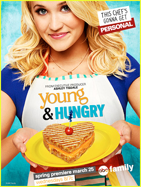 Emily Osment Makes Us Excited for 'Young & Hungry' in This Exclusive Season 2 Key Art!