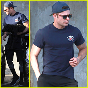 Zac Efron Steps Out After Receiving Four MTV Movie Awards Nominations
