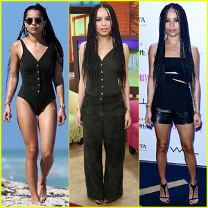 Zoe Kravitz Enjoys Downtime at Miami Beach After 'Insurgent' Promo!