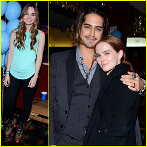 Zoey Deutch Makes It a Throwback Thursday with Boyfriend Avan Jogia!