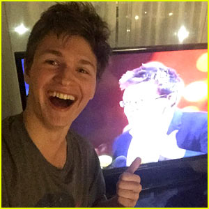 Ansel Elgort Tweets Excitement for MTV Movie Awards Wins!