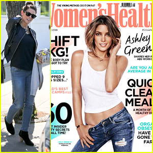 Ashley Greene Covers 'Women's Health UK' Mag For April