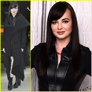 Ashley Rickards Promotes New Book In New York City