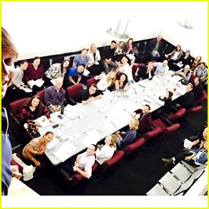 Ross Lynch & More Stars Share Last 'Austin & Ally' Table Read Photos!