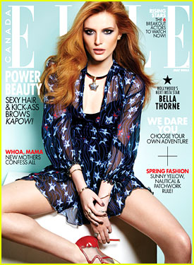 Bella Thorne Talks 'Perfect High' & Her Character's Drug Abuse In Elle Canada's May 2015 Issue