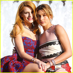 Bella Thorne & Hailey Baldwin Celebrate A Night of Ballet at Youth America Grand Prix Gala