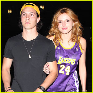 Bella Thorne Brings New Beau Ryan Nassif To Lakers Game