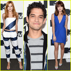 Bella Thorne & Tyler Posey Are the Cool Kids at MTV Upfronts 2015