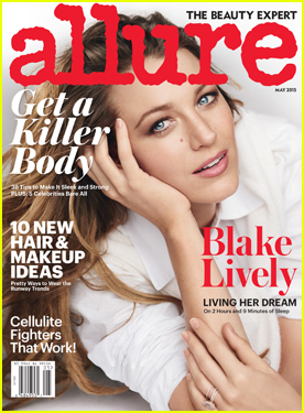 Blake Lively Describes Breast Feeding As Full Time Gig