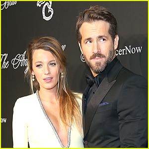Blake Lively Jokes About Ryan Reynolds' Wandering Eye