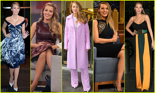 Only Blake Lively Can Pull Off Ten Looks in One Day