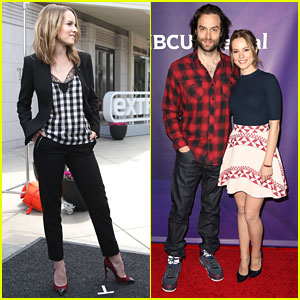 Bridgit Mendler & Chris D'Elia Aren't That 'Undateable' at NBC's Summer Press Day