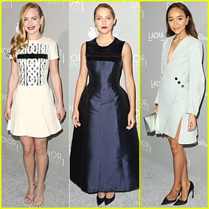Britt Robertson & Teresa Palmer Turn Heads at 'Dior & I' Premiere