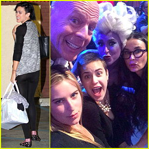 Rumer Willis Gets Tons of Love From Bruce Willis & Demi Moore at 'Dancing with the Stars' Taping