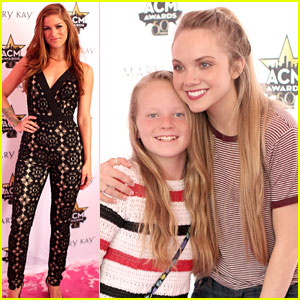 Cassadee Pope & Danielle Bradbery Spend Time With Fans Before ACM Awards