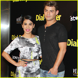 Chrissie Fit & Garrett Clayton Hit The 'Dial A Prayer' Premiere Together