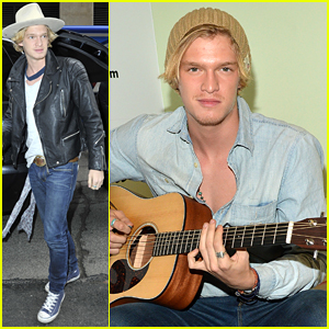 Cody Simpson Stops By Music Choice Ahead Of First Coachella Weekend