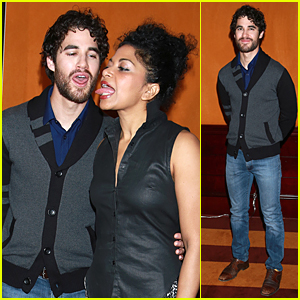 Darren Criss Gets Silly at 'Hedwig and the Angry Inch' Photo Call