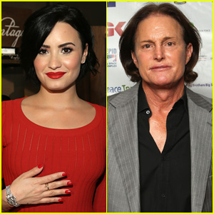Watch Demi Lovato Sing 'Warrior' to Bruce Jenner During New Zealand Concert!