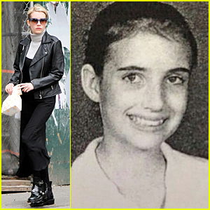 Emma Roberts Shares Vintage 7th Grade Yearbook Pic