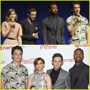 'Fantastic Four' Cast Receives Ensemble Award at CinemaCon 2015