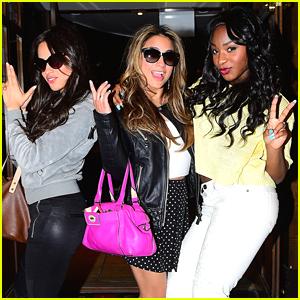 Fifth Harmony Celebrates Normani Hamilton's Mom's Birthday In New York City