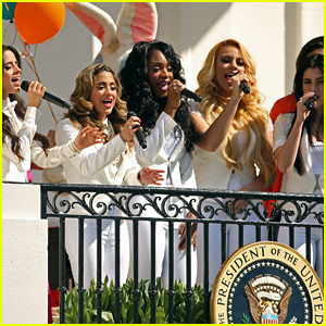 Fifth Harmony Performs at the White House Easter Egg Roll 2015!
