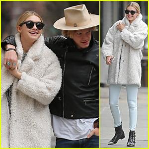 Gigi Hadid & Cody Simpson Hold Hands During Romantic NYC Stroll