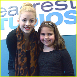 Gracie Gold Visits Boston Children's Hospital - See The Cute Pics!