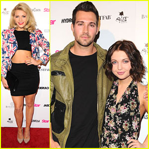 James Maslow & Sammi Hanratty Hit Up Hollywood Rocks Event with Jason Derulo