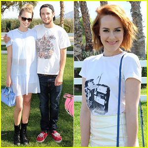 Jena Malone & Dylan Penn Kick Off Coachella with Coach