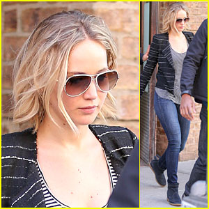 Jennifer Lawrence Steps Out in the Big Apple