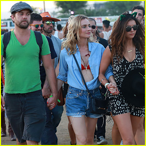 Nina Dobrev Takes on Coachella 2015 With Joshua Jackson & Diane Kruger!