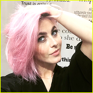 Julianne Hough Goes From Blonde to Pink Hair!