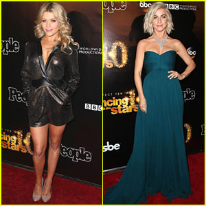 Witney Carson & Artem Chigvintsev Lead The Pros To 'DWTS' 10th Anniversary Party