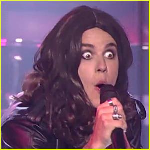 Justin Bieber Channels Ozzy Osbourne in 'Lip Sync Battle' Teaser!