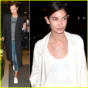 Karlie Kloss Makes Quick Trip To LA After Launching Coding Scholarship