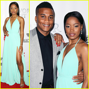 Keke Palmer Is A Glowing Diva at 'Brotherly Love' Premiere!