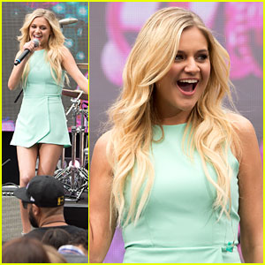 Kelsea Ballerini Performs At RDMAs Pre-Show Festival - See The Pics!