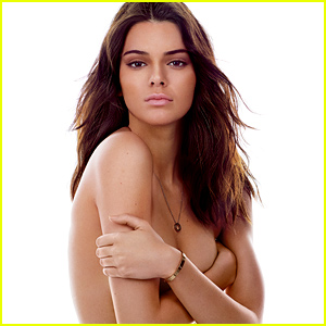 Kendall Jenner Covers Up Her Topless Frame for 'GQ'!