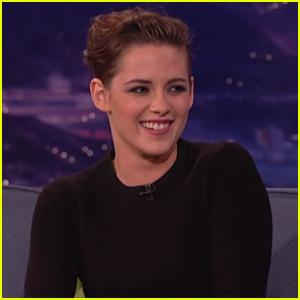 Kristen Stewart Jokes About Justin Bieber on 'Conan'