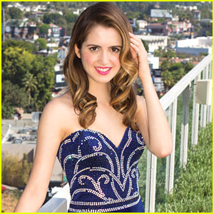 Laura Marano Models Dream Prom Looks For 'Justine' - See The Pics!