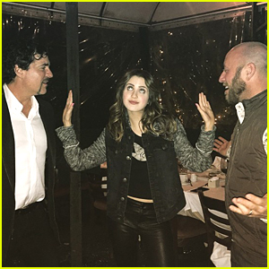Laura Marano Becomes A 'Classic Diva' During Dinner With Scott Borchetta