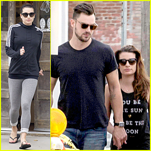 Lea Michele & Matthew Paetz Are Inseparable in New Orleans